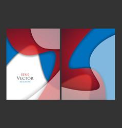 brochures templates set vector image