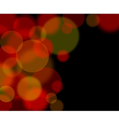 abstract glowing lights vector image