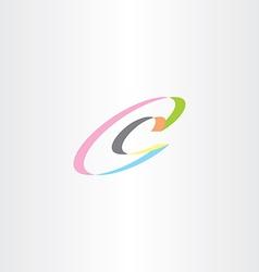 C letter logotype c icon logo symbol element vector