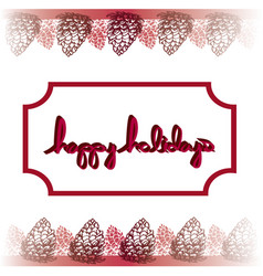 Christmas happy holidays graphic element 2 vector