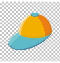 Color Cap Isolated in Transparent Background vector image