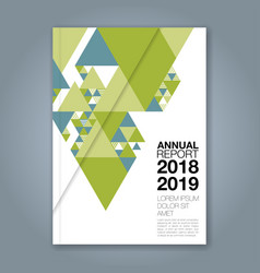 cover annual report 1139 vector image