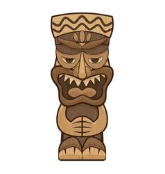 Native idol icon cartoon style vector