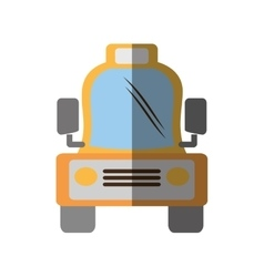 Taxi cab vehicule transport shadow vector