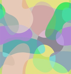 Abstract shapes pattern old school background vector image vector image