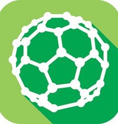 Molecular Structures Icon vector image vector image