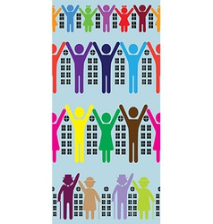 Abstract neighbourhood vector