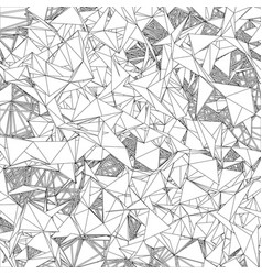 abstract technological polygonal background vector image