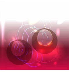 Beautiful abstract pink background lights vector