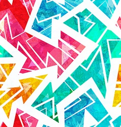 bright arrow seamless pattern vector image