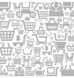 Cart a background vector