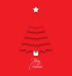 Christmas tree image vector