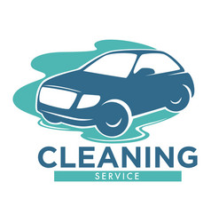 Cleaning service carwash station isolated icon vector