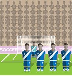 Guatemala Soccer Club Penalty on a Stadium vector