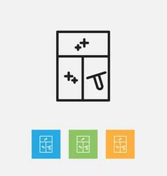of cleaning symbol on washing vector image