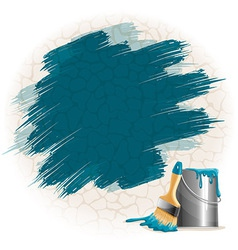 Paint smears vector image