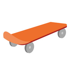 skateboard cartoon vector image
