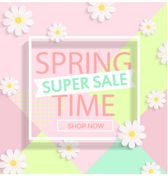 Spring super sale vector