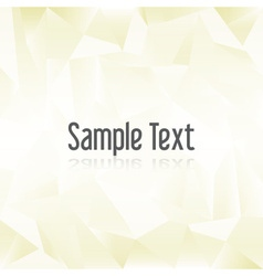 Yellow paper creased pattern with sample text vector