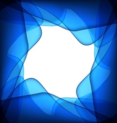 Blue abstract blue background vector image vector image