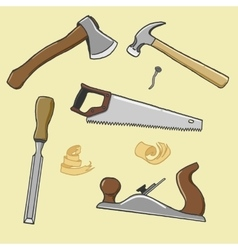 carpenter instrument vector image