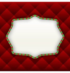 Christmas label background vector