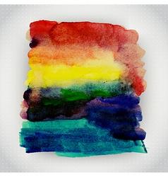watercolor texture Grunge paper template Wet paper vector image