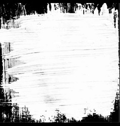 white black painted background vector image