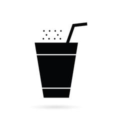 drink black vector image