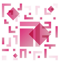 background with abstract square pattern and vector image