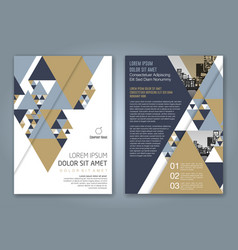 Cover annual report 1149 vector
