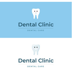 dental clinic symbol vector image