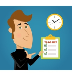 done todo list vector image