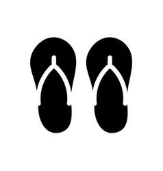 Footwear icon vector