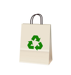 Recycle bag vector