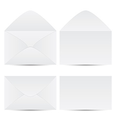 set of envelope vector image