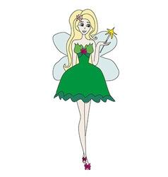 Beautiful fairy vector