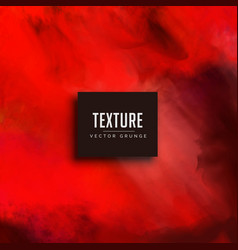 red watercolor texture background vector image vector image