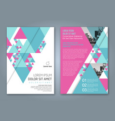 Cover annual report 1154 vector