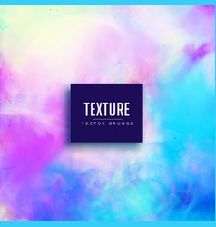 Elegant pink and blue watercolor texture vector