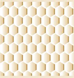 Geometrical honeycomb seamless pattern vector