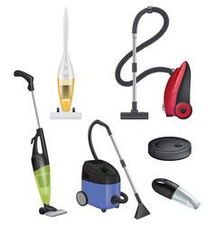 Vacuum cleaner modern carpet cleaner vector