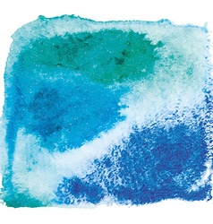 Blue and pink watercolor background vector image vector image