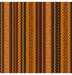 Ethnic ornament abstract geometric seamless fabric vector image vector image