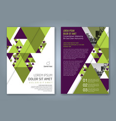 cover annual report 1159 vector image