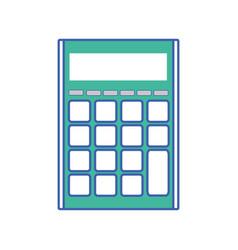 Finance calculator to business economy data vector