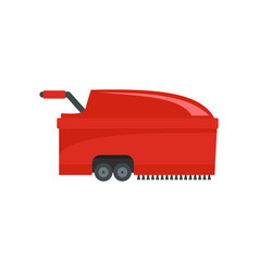 hall vacuum cleaner icon flat style vector image