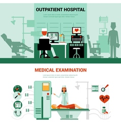 Medical Specialists Banners vector