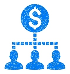 Money Recipients Grainy Texture Icon vector
