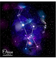 Orion constellation vector